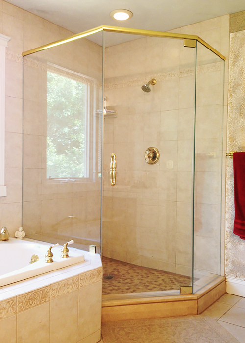 Neo Angle Shower Doors Corner Shower Manalapan Nj
